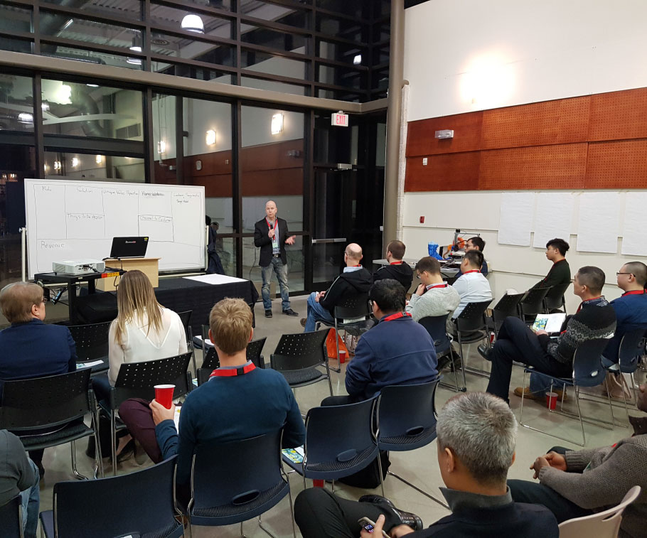 The Steinbach Chamber of Commerce presentations are a great resource for businesses!